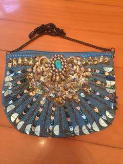 Small Sequin Hangbag