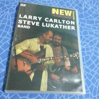 Larry Carlton & Steve Lukather Live Dvd.