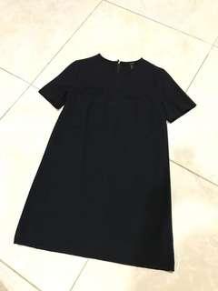 FOREVER 21 Two-pocket Navy Dress
