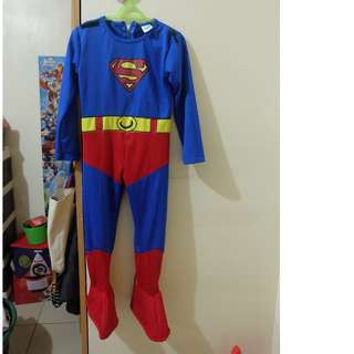 Justice League SUPERMAN Costume Size 3T