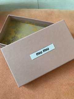 Miu Miu首飾盒