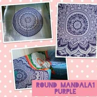 Round Mandala1 Purple