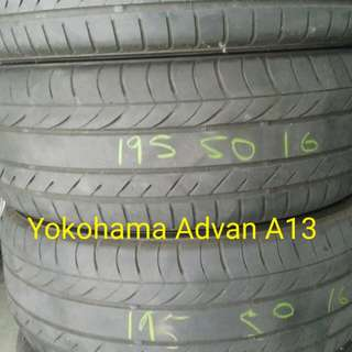2nd Hand Tyre 195/50/16