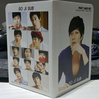 🚚 #五十元好物❣蘇志燮 明信片12張+貼紙3張 (購於韓國)