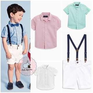 KIDS/ BABY - Shirt/ Cino pants