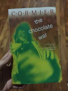 "Robert Cormier ""The chocolate war"""