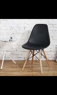 Nordic Design Home Chair (Black Seat)