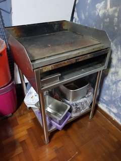 Stainless Steel gas Parta cooker