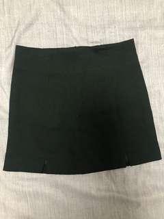 Brand new Black slit skirt