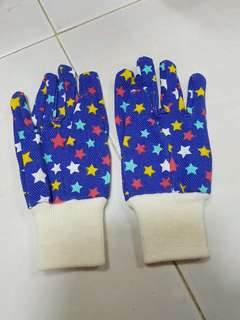 Kids gardening or art cloth gloves