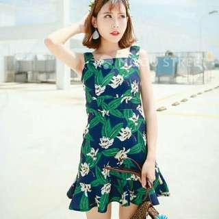 🚚 夏日渡假魚尾洋裝 #九月女裝半價