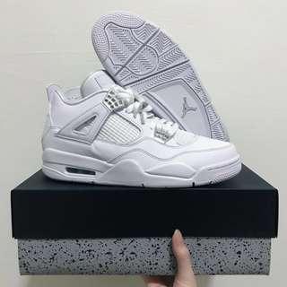 BNIB Nike authentic air jordan 4 retro sneakers