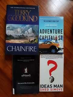 Books for tech inspiration