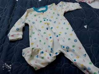 🚚 新生兒嬰兒寶寶連身包屁衣兔裝二手