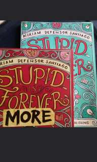 BOOK SALE STUPIS IS FOREVER (BOOK 1&2)