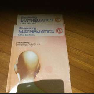 Discovering Mathematics 3A & 3B