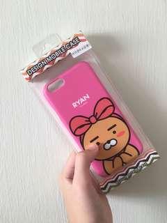 kakao friends ryan phone case