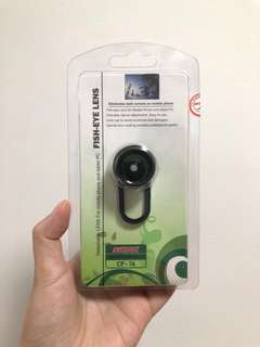 BNIB Fish eye lens (for phone and tablets)