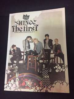 Shinee The First Album - Taemin Photocard
