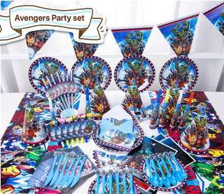 PO Avengers Party Set