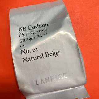 Laneige BB Cushion Refill - #21 Natural Beige 📬包郵