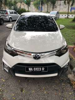 Toyota 1.5 vios trd 2014