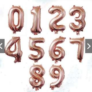 "32"" Rose Gold Foil Balloon"