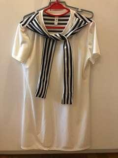 Korean style t-shirt dress