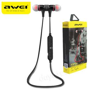 AWEI A920BL Bluetooth 4.0 Wireless Earphone ◇ Sport Exercise Stereo Noise Reduction Earbud Build-in Microphone Mic Waterproof Super long Standb Headphone For Apple iPhone Galaxy Android Smartphones for Running Gym Cycling Hiking Fishing