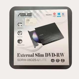 BNIB ASUS External Slim DVD-RW (SDRW-08D2S-U LITE)