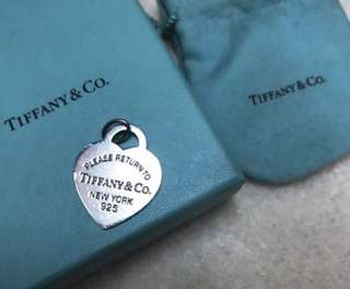 Tiffany tag for necklace