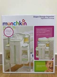 *Brand New* Munchkin Diaper Change Organizer