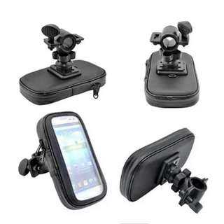 Motorcycle Bike Bicycle Front Bag Case Mount Holder for GPS Mobile Phone Waterproof