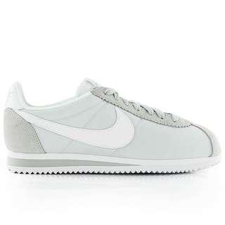 Nike Women's Classic Cortez in Pure Platinum/White