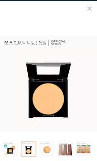Maybelline fit me face powder new