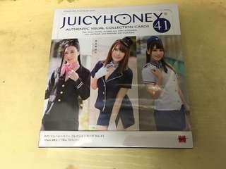 全新Juicy Honey 41波多野結衣 古川 初川原Box一盒