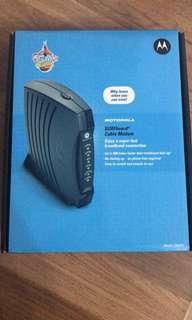 NEW Motorola Cable Modem