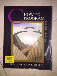 C - How to Program