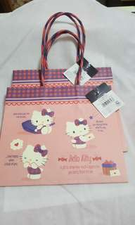 Hello Kitty Two Handle Gift Bags
