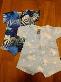 Brand new Bonds Wondersuit Short Sleeve 0-3 months