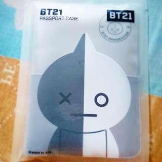 BT21 Van passport case