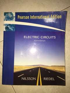Electric Circuits (text book for NTU EE2002)