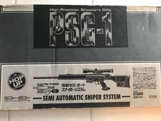 MARUI PSG-1 馬記 日本 氣槍 電動槍 電動狙擊槍
