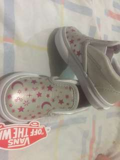 Authentic Vans (6-12 mos old)