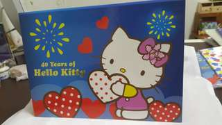 Hello Kitty in Singapore Stamp Book