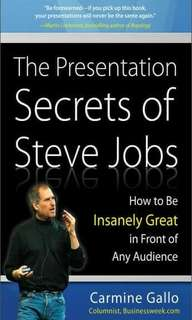 ebook The Presentation Secrets of Steve Jobs