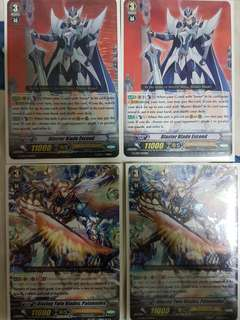 Vanguard Paladin Deck (Aichi and Divine)