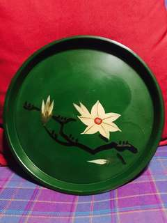 Antique 1960's Japanese 🇯🇵 Lacquer Tray
