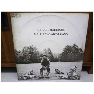 George Harrison All Things Must Pass 3 Set Vinyl LP Record Early Pressing
