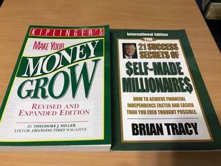 Make your money grow & self-made millionaires